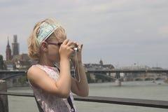 Weinig fotograaf Royalty-vrije Stock Afbeeldingen