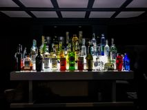 Weinig gedronken stock foto's