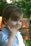 Weinig glimlachend meisje Stock Fotografie