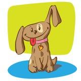 Weinig grappig puppy stock illustratie