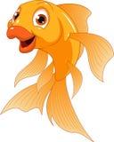 Weinig grappige goudvis stock illustratie