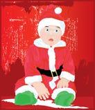 Weinig Helper van de kerstman   vector illustratie