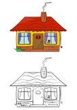 Weinig huis royalty-vrije illustratie