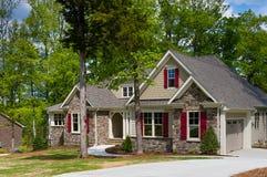 Weinig huis stock foto