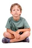 Weinig jongen stock foto