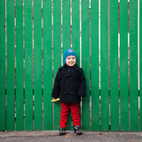 Weinig jongen Stock Foto's