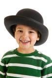 Weinig jongen met hoed Royalty-vrije Stock Afbeeldingen