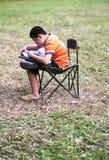 Weinig jongenstekening Stock Foto's