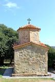 Weinig kapel in Orthodoxe Kerk Samtavro Royalty-vrije Stock Foto