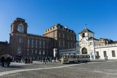 Weinig Kerk van Coazzolo, Piemonte - Italië stock afbeelding