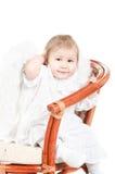 Weinig kind een engel Royalty-vrije Stock Foto