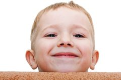 Weinig kind het glimlachen Royalty-vrije Stock Afbeelding