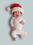 Weinig kind - Santa Claus Stock Fotografie
