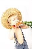 Weinig landbouwer stock foto's
