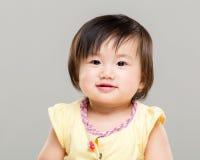 Weinig leuke baby royalty-vrije stock foto's