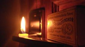 Weinig Licht stock afbeelding