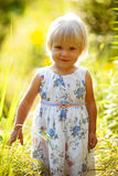 Weinig Meisje van de Blonde Stock Fotografie