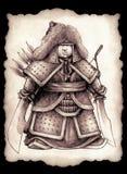 Weinig Mongoolse prins Stock Afbeelding