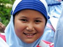 Weinig Moslimmeisje Royalty-vrije Stock Afbeeldingen