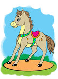 Weinig paard Royalty-vrije Stock Afbeeldingen