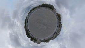 Weinig planeet van het centrum van Parijs stock videobeelden