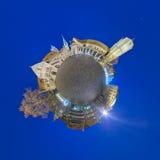 Weinig planeetpanorama van Braunschweig Stock Afbeelding