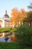 Weinig pond in binnenplaats van Rostov het Kremlin Stock Foto