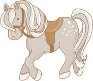 Weinig Poney vector illustratie