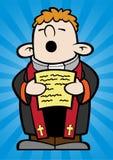 Weinig priester Royalty-vrije Stock Foto