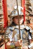 Weinig ridder Royalty-vrije Stock Foto's