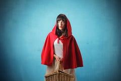 Weinig Rode Berijdende Kap Royalty-vrije Stock Afbeelding