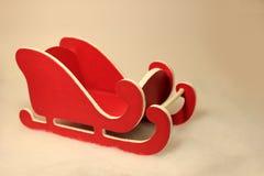 Weinig Rode Slee Stock Afbeelding