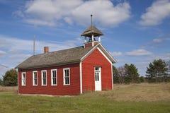 Weinig Rood Huis van de School Royalty-vrije Stock Afbeelding