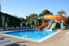Weinig rustige pool stock afbeelding
