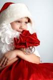 Weinig santa Royalty-vrije Stock Fotografie
