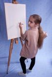 Weinig schilder Royalty-vrije Stock Afbeelding
