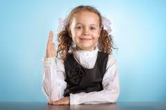 Weinig schoolmeisje Royalty-vrije Stock Afbeeldingen
