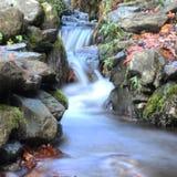 Weinig snelheid van het waterval langzame blind Stock Foto