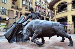 Weinig Spanje, Wuhan-stad Royalty-vrije Stock Foto