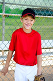Het portret van de het honkbalspeler van de jeugd Stock Fotografie