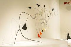 Weinig Spin over 1940, Calder-tentoonstelling royalty-vrije stock foto's