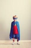 Weinig Superhero stock afbeeldingen