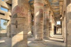 Weinig tempel in Karnak royalty-vrije stock afbeeldingen
