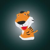 Weinig tijger Stock Foto