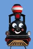 Weinig trein stock afbeelding