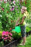 Weinig tuinman royalty-vrije stock foto