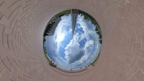 Weinig Uiterst kleine Planeet stock video
