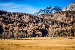Weinig Vallei van Ossola van het bergdorp Royalty-vrije Stock Afbeelding