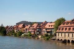 Weinig Venetië in Bamberg Royalty-vrije Stock Afbeeldingen