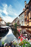 Weinig Venetië in Colmar, de Elzas, Frankrijk Royalty-vrije Stock Foto's
